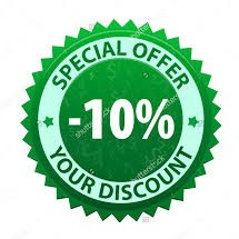10% discount